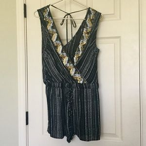 NWT Anthro Sequins & Stripes Jumper